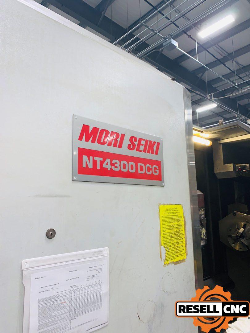 2006 Mori Seiki NT4300 DCG/1500 CNC Turning Machining Center