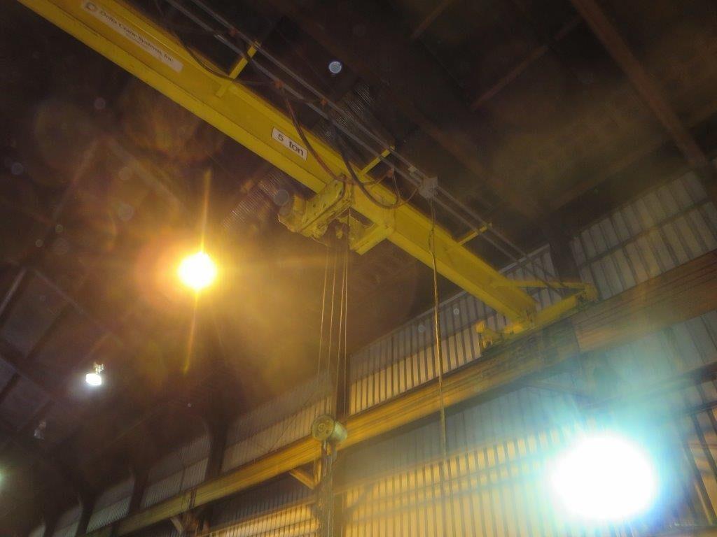 R&M 5 Ton 44' 3.75 inches Top Running Single Girder Photo 1.jpg