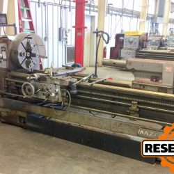 "Mazak 24-80, 24"" x 80"" Geared Head Engine Lathe at Auction Ending May 2 at 3PM ET"