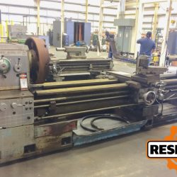 "Mazak Model 30-120, 30"" x 120"" Geared Head Engine Lathe at Auction Ending May 2 at 3PM ET"