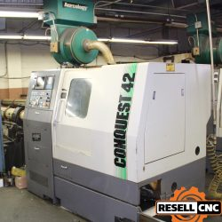 Hardinge Conquest CS-42 CNC Live Tool Lathe with Sub-Spindle