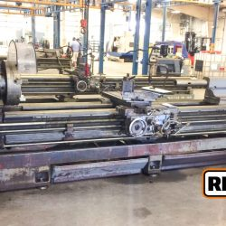 "Mazak 24-160, 24"" x 160"" Geared Head Engine Lathe at Auction Ending May 2 at 3PM ET"